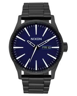 ALL BLACK DARK BLUE MENS ACCESSORIES NIXON WATCHES - A356-2668-BLKBL
