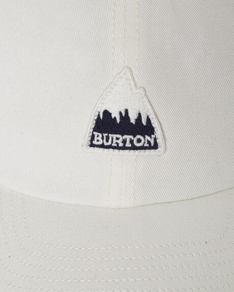 STOUT WHITE MENS ACCESSORIES BURTON HEADWEAR - 173801100