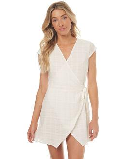 NATURAL WOMENS CLOTHING RHYTHM DRESSES - JUL17G-DRS01NAT