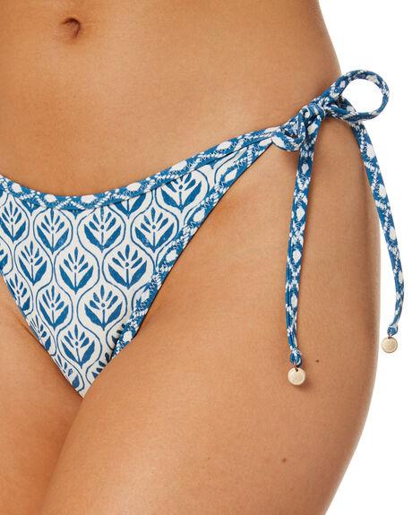 BIJOU BLUE WOMENS SWIMWEAR TIGERLILY BIKINI BOTTOMS - T515096U00