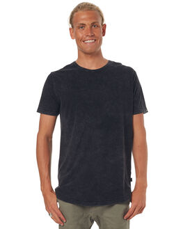 WASHED BLACK MENS CLOTHING SILENT THEORY TEES - 4085000WBLK