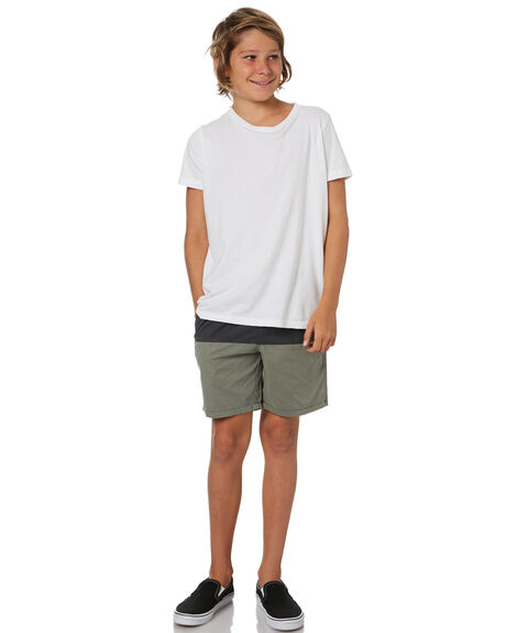 GREY KIDS BOYS SWELL SHORTS - S3201239GRY