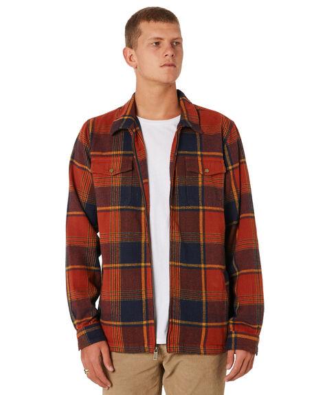 BURNT ORANGE MENS CLOTHING O'NEILL JACKETS - HO8102109BOR