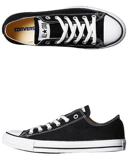 BLACK MENS FOOTWEAR CONVERSE SKATE SHOES - SS19166BLKM