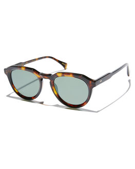 KOLA TORTOISE MENS ACCESSORIES RAEN SUNGLASSES - 100U191SAGS242