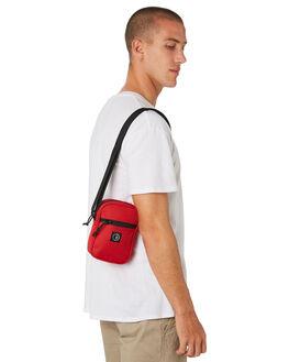 RED MENS ACCESSORIES POLAR SKATE CO. BAGS + BACKPACKS - POL-CORDURAMINIRED