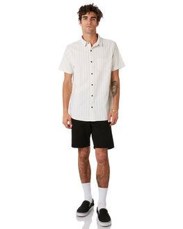 BLACK MENS CLOTHING DR DENIM SHORTS - 1710111-101