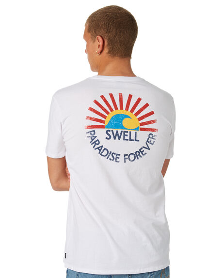 WHITE MENS CLOTHING SWELL TEES - S5184030WHITE