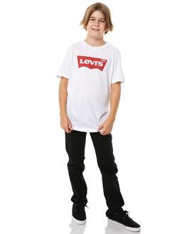 OVERDYE BLACK KIDS BOYS LEVI'S JEANS - 915511508
