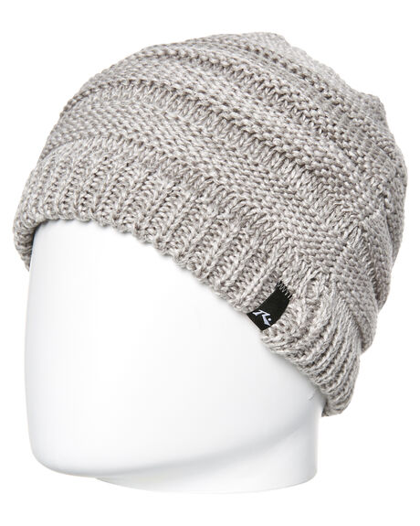 LIGHT GREY MARLE MENS ACCESSORIES RUSTY HEADWEAR - HBM0104LGM