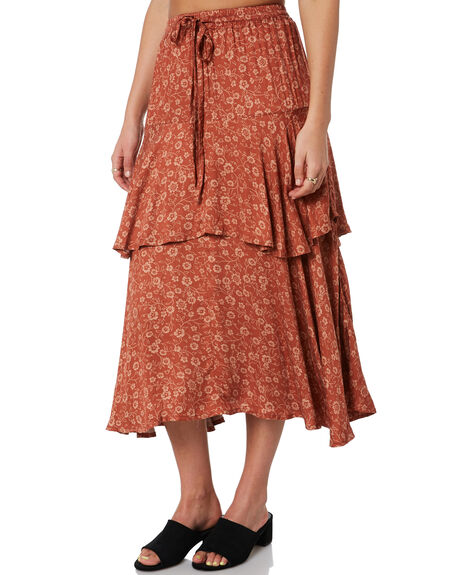 STEVIE FLORAL WOMENS CLOTHING THE HIDDEN WAY SKIRTS - H8204473STVFL