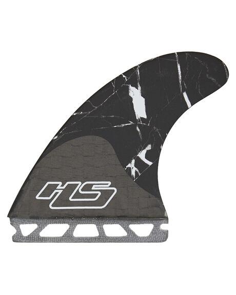 SMOKE BLACK MARBLE BOARDSPORTS SURF FUTURE FINS FINS - 2487-456-00BLK