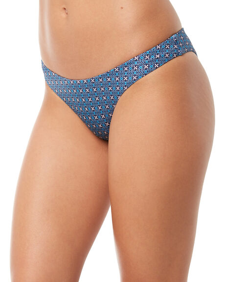 BLUE WOMENS SWIMWEAR TIGERLILY BIKINI BOTTOMS - T381619BLU