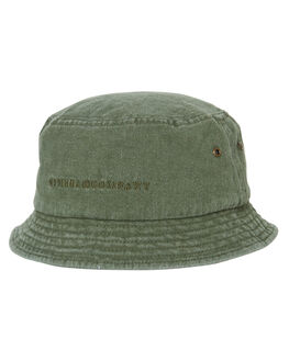 ARMY GREEN MENS ACCESSORIES THRILLS HEADWEAR - TS9-510FARMY