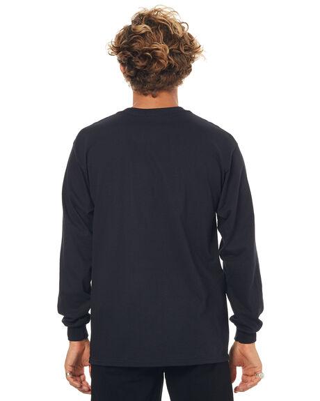 BLACK MENS CLOTHING THRASHER TEES - 20165313BLK