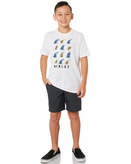 BLACK KIDS BOYS HURLEY SHORTS - AQ7997-010