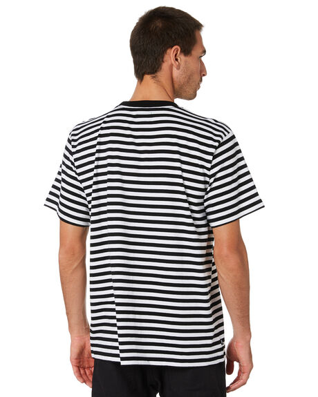 BLACK MULTI MENS CLOTHING OBEY TEES - 131080261BKM