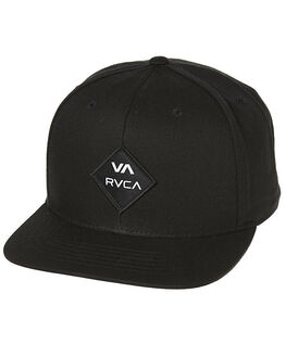 BLACK WHITE MENS ACCESSORIES RVCA HEADWEAR - R223608VBKWH