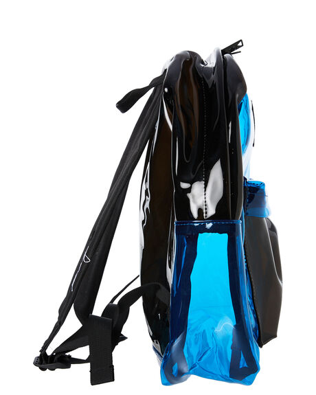 BLUE AND BLACK MENS ACCESSORIES THE BUMBAG CO BAGS + BACKPACKS - CO056BLBLK