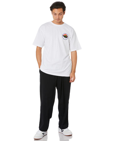 WHITE MENS CLOTHING OBEY TEES - 163082233WHT