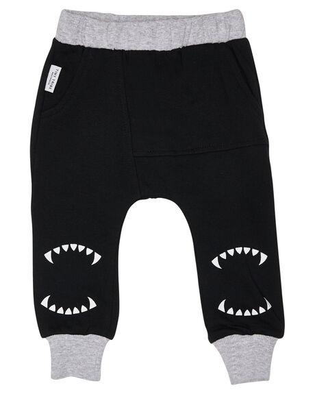BLACK KIDS BOYS TINY TRIBE PANTS - TTBW18-3006CBLK