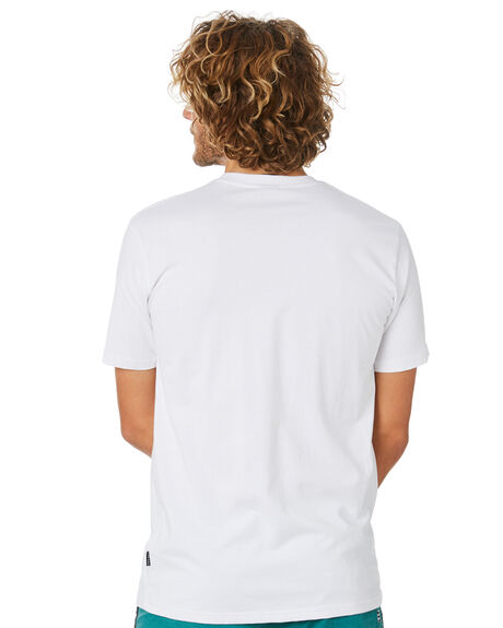 WHITE MENS CLOTHING TOWN AND COUNTRY TEES - TTE715AWHT