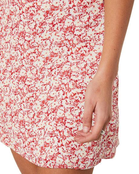 RED VELVET WOMENS CLOTHING RUSTY SKIRTS - SKL0533RDV