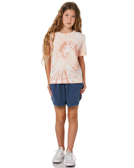 WAVE TIE DYE KIDS GIRLS MUNSTER KIDS TOPS - MM202TE06TIED