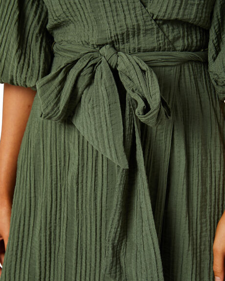 KHAKI WOMENS CLOTHING MINKPINK DRESSES - MG2103567KHK