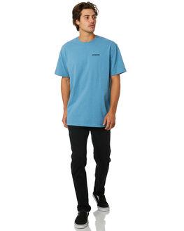 MAKO BLUE MENS CLOTHING PATAGONIA TEES - 39174MABL