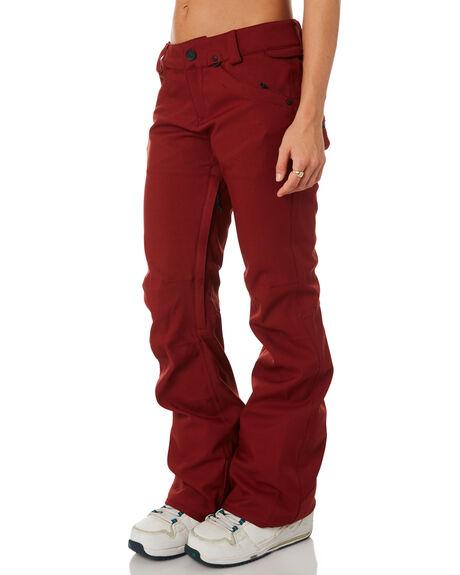 BURNT RED BOARDSPORTS SNOW VOLCOM WOMENS - H1351905BTR