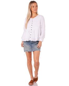 WHITE WOMENS CLOTHING SAINT HELENA FASHION TOPS - SH18AW503-WHT