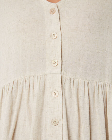 NATURAL WOMENS CLOTHING RIP CURL DRESSES - GDRIB10031