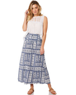 WHITE WOMENS CLOTHING RIP CURL SKIRTS - GSKCZ11000