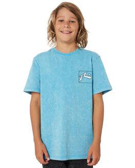 MAUI BLUE KIDS BOYS RUSTY TOPS - TTB0621MBU