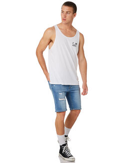 WHITE MENS CLOTHING SWELL SINGLETS - S5182279WHITE