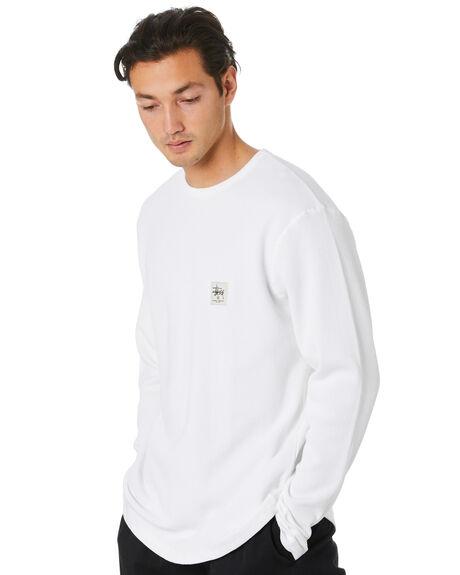 WHITE MENS CLOTHING STUSSY TEES - ST006112WHT