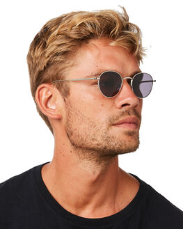 SILVER MENS ACCESSORIES SUNDAY SOMEWHERE SUNGLASSES - SUN700580050