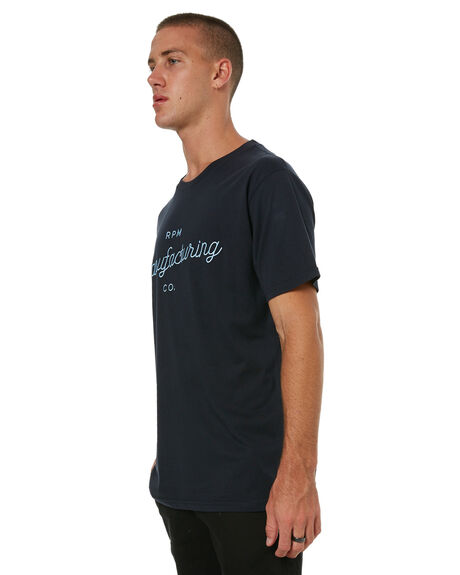 NAVY MENS CLOTHING RPM TEES - 7HMT04ANVY