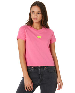 WASHED NEON PINK WOMENS CLOTHING LEVI'S TEES - 29674-0029NEON