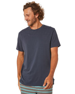 WASHED NAVY MENS CLOTHING RIP CURL TEES - CTESZ29741