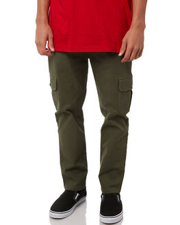 DARK GREEN OUTLET MENS LOWER PANTS - LO18Q3MPA04DGRN