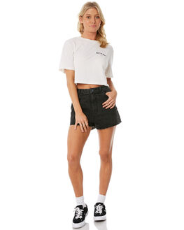 EAGLE BLACK WOMENS CLOTHING INSIGHT SHORTS - 5000001997EAGBL
