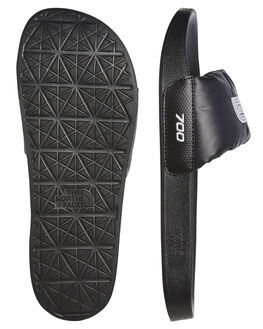 TNF BLACK MENS FOOTWEAR THE NORTH FACE SLIDES - NF0A47AHKY4