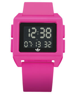 SHOCK PINK WOMENS ACCESSORIES ADIDAS WATCHES - Z15-3123