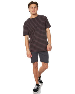 LEAD MENS CLOTHING GLOBE TEES - GB01711001LED