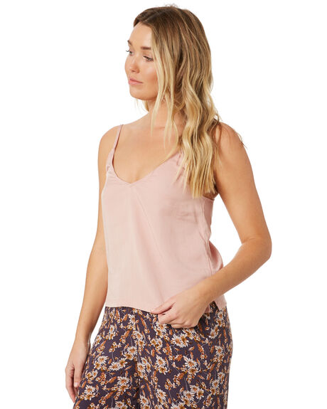 MISTY ROSE OUTLET WOMENS RUSTY FASHION TOPS - WSL0669-MYE