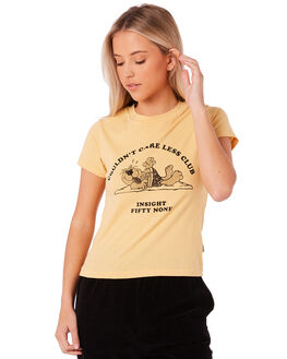 YELLOW WOMENS CLOTHING INSIGHT TEES - 5000000994YLLW