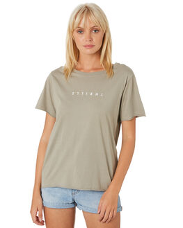 CLAY WOMENS CLOTHING THRILLS TEES - WTH9-103GCLAY