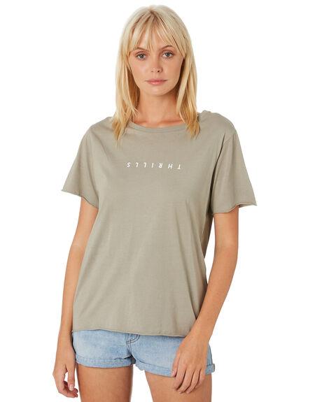CLAY WOMENS CLOTHING THRILLS TEES - WTH9-103GCLAY
